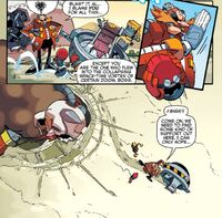 Eggman Crossover Aftermath