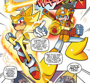 Sonic and Mega Man Go Super