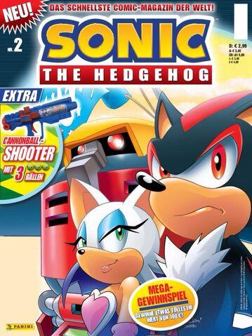 File:Sonic Panini Comics - Comic Magazine 2.jpg