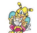 Saffron Bee