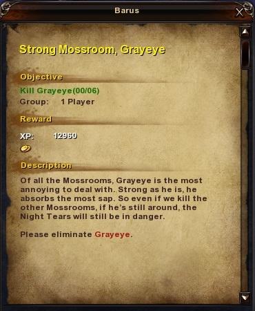 35 Strong Mossroom, Greyeye