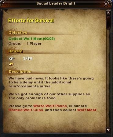 47 Efforts for Survival