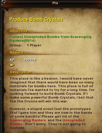 131 Produce Bomb Crystals