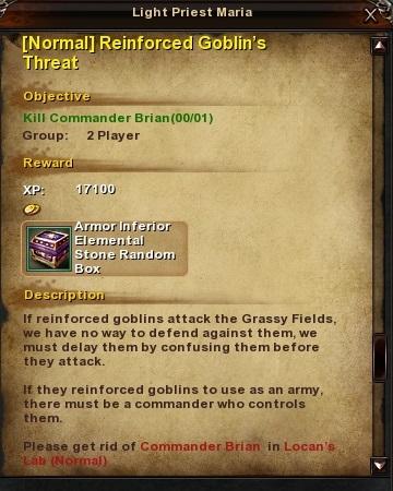 76 Normal Reinforced Goblin's Threat