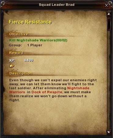 35 Fierce Resistance