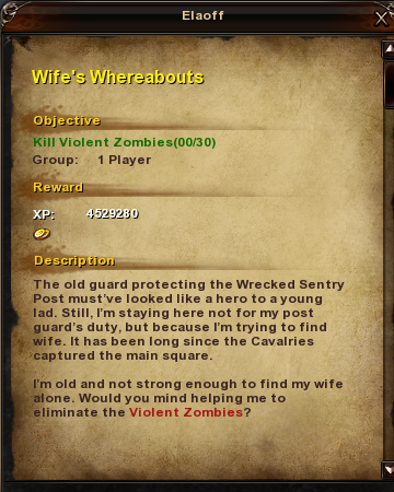 28 Wife's Whereabouts