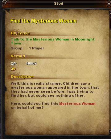 1 Find the Mysterious Woman