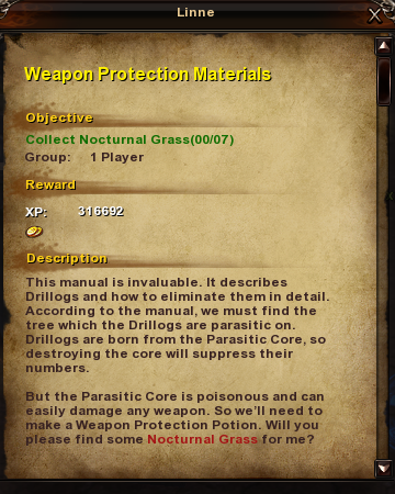 161 Weapon Protection Materials