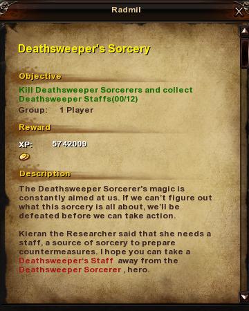 178 Deathsweeper's Sorcery