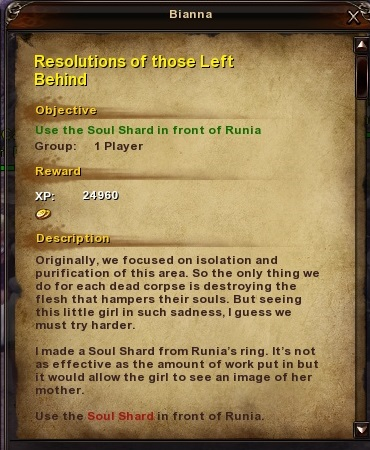 136 Resolutions of those Left Behind
