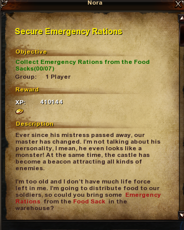 176 Secure Emergency Rations