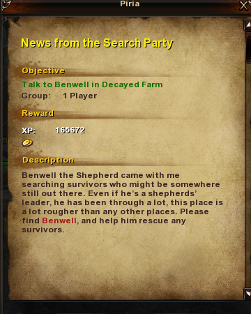 110 News from the Search Party