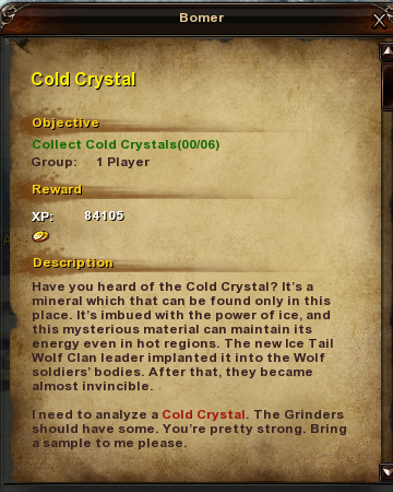 9 Cold Crystal