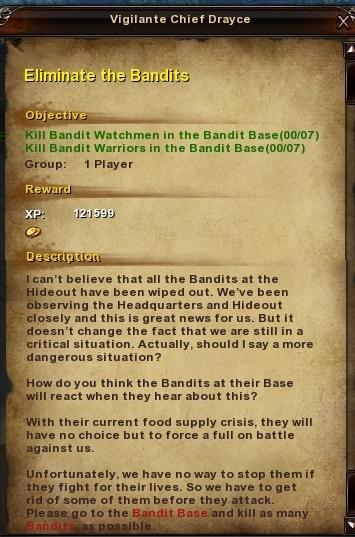 91 Eliminate the Bandits