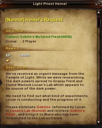 71 -Normal- Heinel's Request