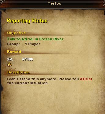 11.1 Reporting Status