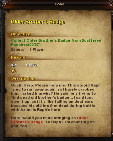 23 Older Brother's Badge
