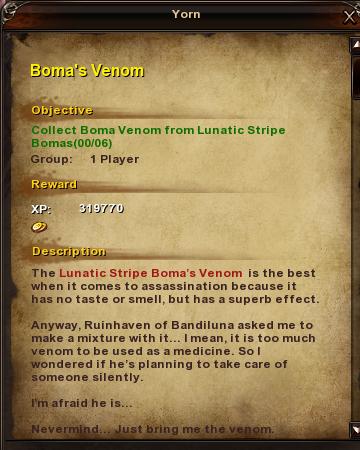 144 Boma's Vvenom