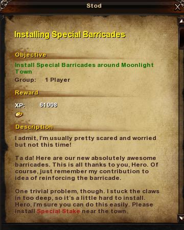 7 Installing Special Barricades