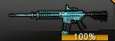 M4A1 Blue Marble icon