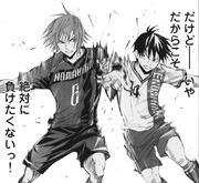 Yusuke vs Kakeru