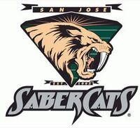San Jose Sabercats Logo
