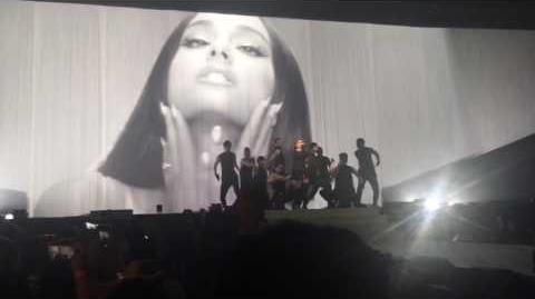 Ariana Grande - Dangerous Woman Tour- Be alright (Opening) 1st night Phoenix AZ