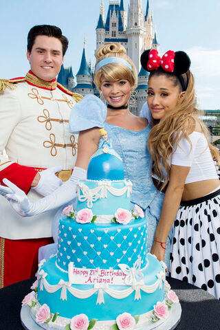 File:Ariana with prince charming and cinderella.jpg