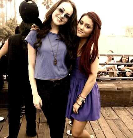 Image - Liz And Ariana Grande.jpg | Ariana Grande Wiki ...