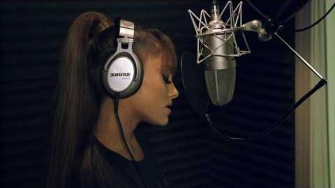 Beauty and the Beast John Legend & Ariana Grande Behind the Scenes Song Recording