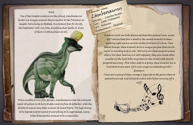 File:ARK Fan-made Lambeosaurus.jpg