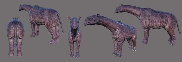 File:ARK-Paraceratherium 3D Model.jpg