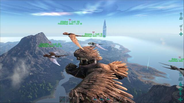 File:ARK-Argentavis and Dimorphodon Screenshot 001.jpg