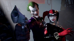 Harley classic and joker
