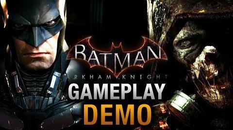 Batman Arkham Knight - Full Gameplay Demo E3 2014