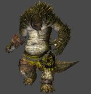 Xnalara batman arkham knight killer croc v1 by caplagrobin-d9laxzc