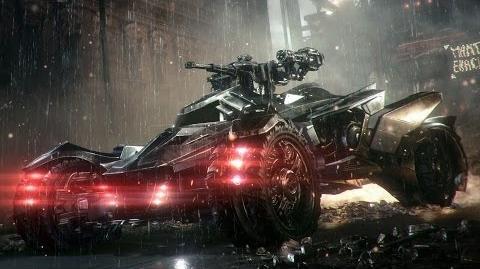 Official Batman Arkham Knight -- Batmobile Battle Mode Reveal