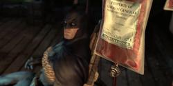 Batman blood