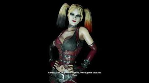 Batman Return To Arkham City - Harley Quinn Game Over Scenes