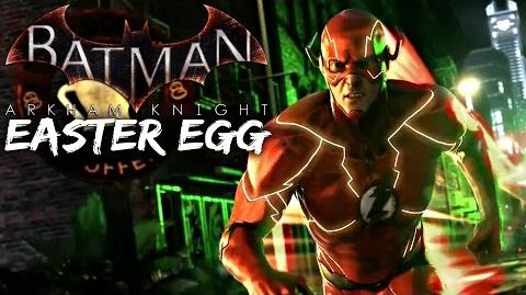 Batman Arkham Knight- The Flash Easter Egg