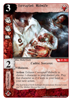 Corrupted Midwife R-51