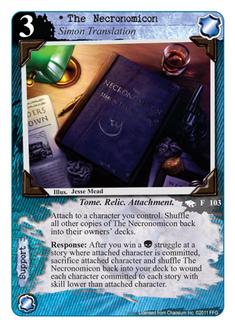 The Necronomicon R-103