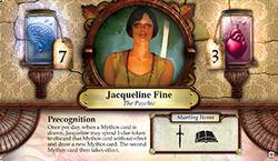 Jacqueline Fine ~ Elder Sign - Unseen Forces