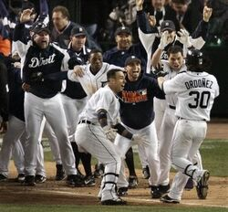 Magglio Ordonez walkoff