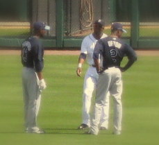 1205185846 Upton, Granderson, and Crawford Talk