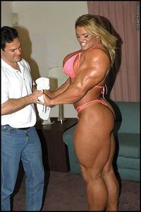 Body builder chick 1