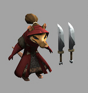 Rat Assassin Model