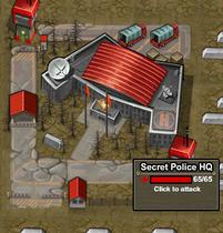 Army attack Secret Police HQ 2
