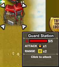 Army attack Guard Station