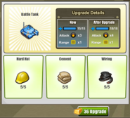 Upgrade Battle Tank